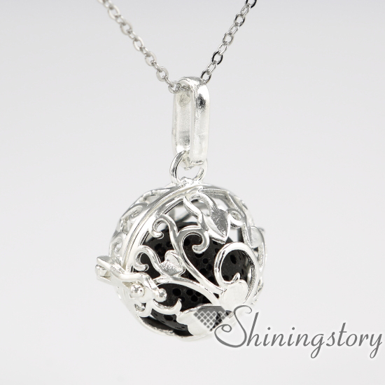 Ball metal volcanic stone silver heart locket oil diffuser jewelry ball metal volcanic stone silver heart locket oil diffuser jewelry locket with charms inside ceramic diffuser aloadofball Image collections