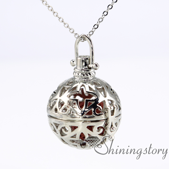 Necklace locket scented necklace small locket essential oil pendants ball necklace locket scented necklace small locket essential oil pendants wholesale metal volcanic stone openwork necklaces aloadofball Gallery