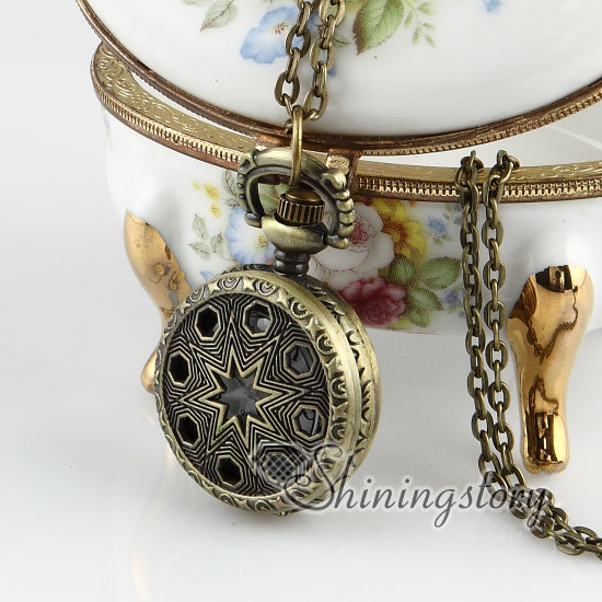 Brass antique style openwork malta cross pocket watch pendant long brass antique style openwork malta cross pocket watch pendant long chain necklaces aloadofball Choice Image