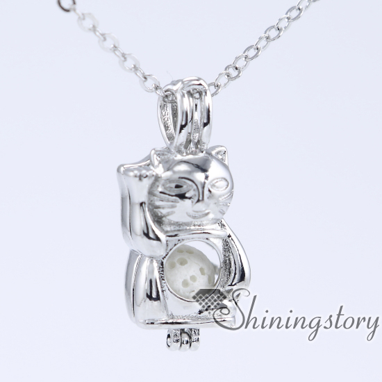 img statement antique locket lockets long silver reese necklaces sterling shore company glass design extra grande necklace collections