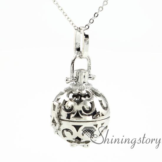 Aromatherapy Essential Oil Diffuser Locket Pendants Diffuser Necklace Aromatherapy Necklace Diffuser Jewelry Aromatherpay Jewelry