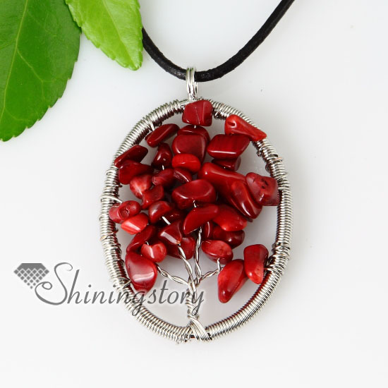 pendant s stone retro natural coral is necklace jewelry spiny loading itm red image shell oyster
