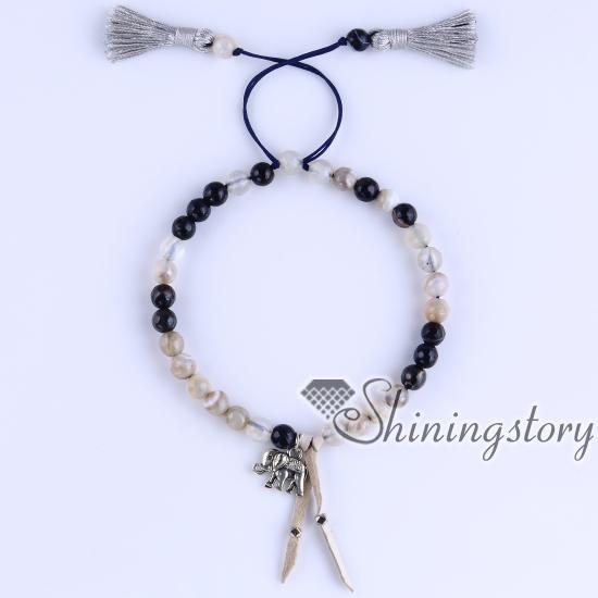 Mala Bracelet Yoga Prayer Beads Buddist Hindu Meditation Bracelets