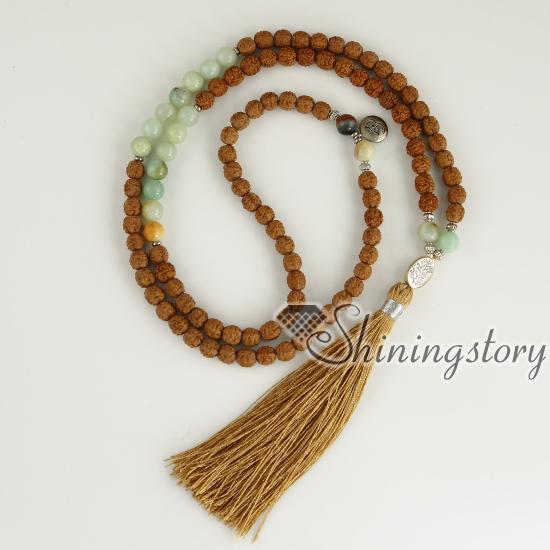 Meditation Beads Bodhi Seeds Prayer Mala Whole Buddhist Bracelet Yoga Jewelry Healing Bracelets
