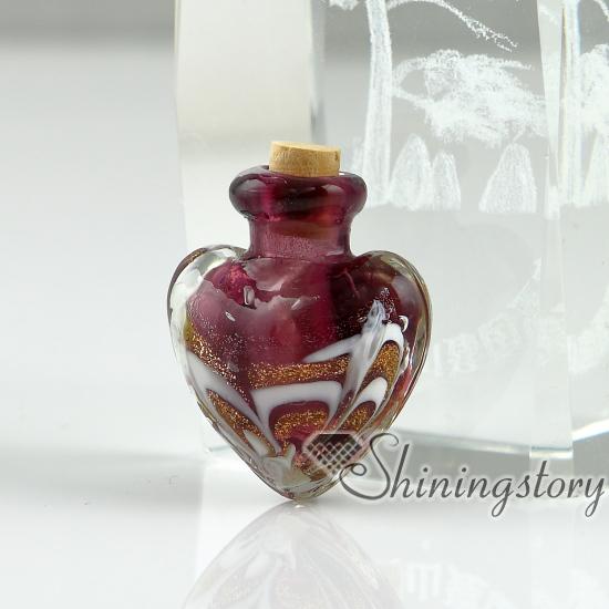 Miniature Glass Bottles Pendant For Necklace Wholesalesmall Beauteous Small Decorative Bottles Wholesale