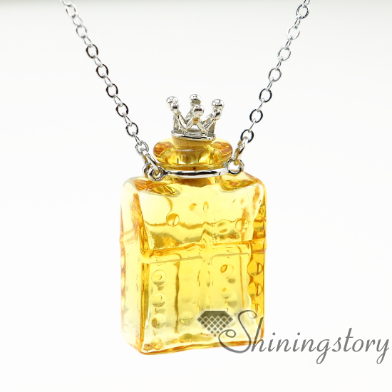 Oblong essential oil necklace diffusers perfume pendant diffuser oblong essential oil necklace diffusers perfume pendant diffuser essential oils jewelry miniature glass bottles design a aloadofball Image collections