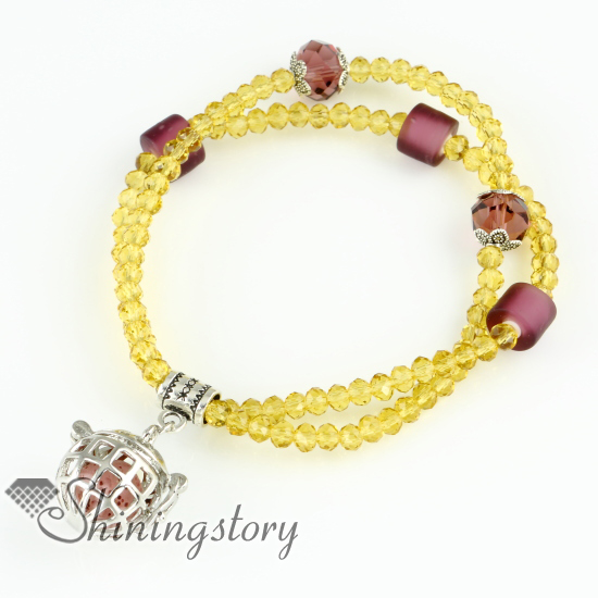 Openwork Aromatherapy Jewelry Essential Oil Diffuser Bracelet