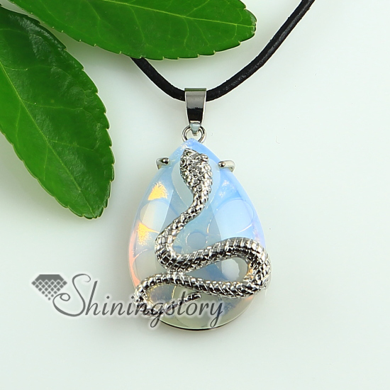 Teardrop snake rose quartz turquoise natural stone glass opal teardrop snake rose quartz turquoise natural stone glass opal natural semi precious stone pendants for necklaces aloadofball Choice Image