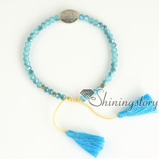 Tree Of Life Bracelet Prayer Buddhist Beads Meditation Yoga Spiritual Jewellery Uk