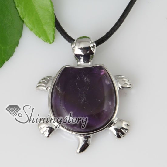 Turtle semi precious stone rose quartz amethyst jade tigers eye turtle semi precious stone rose quartz amethyst jade tigers eye necklaces pendants design b mozeypictures Images