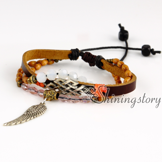 Wings Feather Charm Pendants Whole S Bracelet Bracelets And Charms Leather Straps For Crafts