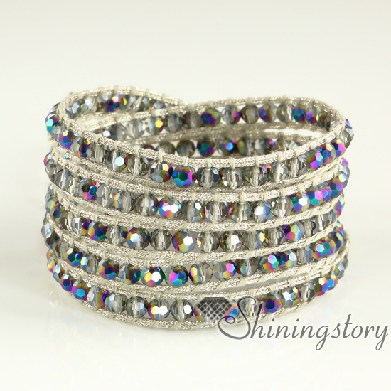 Bracelet Size 5 Layer With 3 Adjule Closures That Measure Roximately 33 Inch 34 35 85cm 87cm 89cm In Length