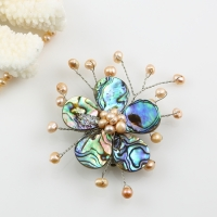 mother of pearl brooches