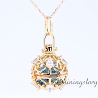 cz cubic zircon locket pendant locket necklace with charms open locket fashion scents jewelry aromatherapy necklace heart lockets for girls