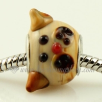 dog lampwork glass beads for fit charms bracelets
