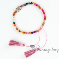 budda bracelets with tassels buddha bracelet prayer beads bracelet charm bracelets for girls yoga jewelry tassel adjustable beaded