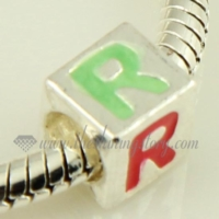 european enamel large hole charms fit for bracelets