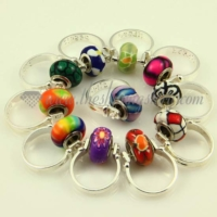 european polymer clay beads finger rings jewelry
