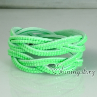 genuine leather rhinestone wrap slake bracelets double layer wristbands woven bracelets