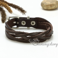 genuine leather wristbands bracelets multi layer wrap bracelets handmade handcrafted bracelets jewelry
