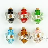 glass vial pendant for necklace necklace bottle pendants small decorative glass bottles