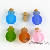 miniature glass bottles pendant for necklace wholesale dog pet ash jewelry jewelry keepsakes for ashes locket