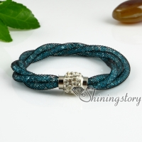rhinestone bracelets crystal stardust bracelet woven bracelets cheap fashion bracelets for women