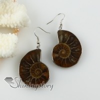 sea shell yellow oyster shell dangle earrings high fashion jewelry