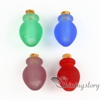 small glass bottles pendant necklaces jewelry urns for ashes dog pet ash jewelry