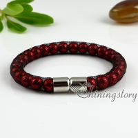 stardust bracelets woven pearl bracelets with buckle cheap fashion bracelets for women