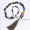 7 chakra jewelry meditation beads prayer bead store tassel necklace wholesale yoga jewelry design A