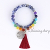 54 mala bracelet 7 chakra bracelets meditation beads buddhist prayer bracelet yoga mala yoga mala tibetan prayer beads design D