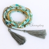 bracelets with tassels beaded wrap bracelets agate semi precious stone best friends bracelets tassel multi layer five layer bracelets jewelry design D