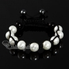 imitated pearls macrame armband bracelets jewelry design G