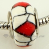 polymer clay large hole beads for fit charms bracelets assorted