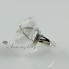 quartz rock crystal agate finger rings design C